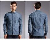 Dessus de chemises des jeans des longs de chemise de type chaud hommes de vie