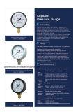 Специальный датчик давления газа