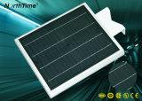 Suministro de muestras de todo-en-uno de las luces de Jardín Solar con batería de litio 6Ah