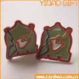 Изготовленный на заказ Pin отворотом, значок Pin с муфтой бабочки (YB-SB-01)