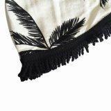 Подтверждение бронирования Roundie полотенце 100% хлопок раунда пляжные полотенца с метелками челкой