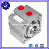 Cylindre pneumatique compact temporaire d'air de double pneumatique de série de Cq2 Sda
