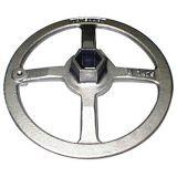 Acero inoxidable Hanwheel de máquina del volante de dirección de encargo de la herramienta