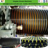 Reforço metálico de polietileno (PE) Spirally tubo corrugado linha de produção