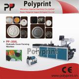 ペット機械(PPBG-500)を形作るプラスチックコップのふた