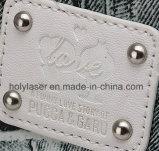 革製バッグのプラスチック宝石類はレーザーのマーキングの彫版の機械工場に蹄鉄を打つ