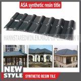 Farben-Dach mit preiswertester Preis-synthetisches Harz-Plastikfliese