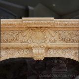 Camino di marmo decorativo dell'interno intagliato alta qualità