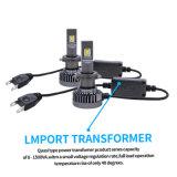 Lightech 60W H7 carro com faróis LED 9600lm levou luz automática para automóvel (H1 H3 H7 H4 H11 H13 5202 880 881 9005 9006 9007)