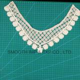 Collare accessorio del merletto del ricamo del nastro del tessuto di cotone dell'indumento del Crochet di modo