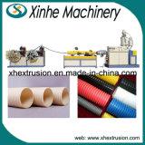 Single-Screw линия продукции штрангпресс трубы из волнистого листового металла PVC одностеночная пластмассы PE
