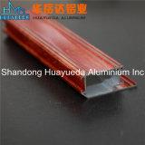 Perfil de alumínio da pintura de madeira da grão para o indicador
