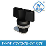 Yh9736 Black Lock Keyless Cam Lock