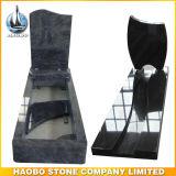 Headstone poco costoso del coperchio completo del granito di prezzi