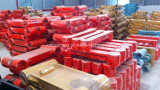 long boum d'extension de 15-30m pour les pièces de machines normales de construction de boum et de bras d'excavatrice