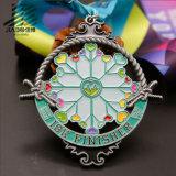 Jiabo personalizou a maratona Finished antiga da medalha