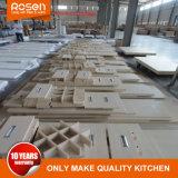 Bois de placage de bois avec meubles de cuisine Laque gris