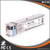 호환성 1000Base-BX Tx 1310nm/Rx1550nm 40km BIDI SFP 광학적인 모듈