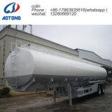 50 cbm líquido inflamable/aceite semi remolque cisterna de transporte