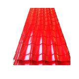 Los materiales de construcción Prepainted Corrugate galvanizado hoja techado