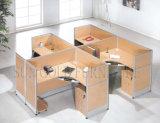 Modieus MDF van het Werkstation van het Bureau van 4 Zetels Meubilair (sz-WSA025)