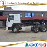 트랙터 트럭 HOWO 트랙터 판매 6X4를 위한 트럭에 의하여 사용되는 트랙터 트럭