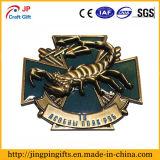 Emblema personalizado do metal do teste padrão do escorpião