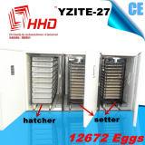 Incubadora automática do ovo da galinha de Digitas grande para 10000 ovos
