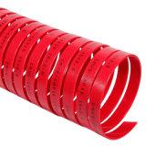 직물 착용 테이프 반지 Gst를 가진 빨강 파란 폴리에스테 수지