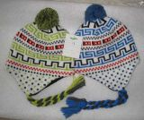 Выдвиженческий способ подгонял шлем Knit зимы Earflat жаккарда