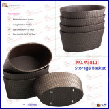 Wicker Patten Home Custom Storage Basket para atacado (5811)
