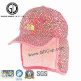 2016 chapeaux/sports imperméables à l'eau d'Earflap de polyester de qualité emballant le chapeau