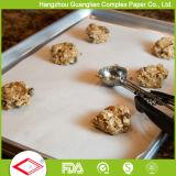 Vegetal Horno Caja de seguridad siliconado antiadherente papel de pergamino para cocinar