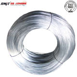 Черной провод гальванизированный бандажной проволокой стальной