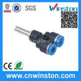 Tubo de plástico compacto con una sola pulsación neumática de montaje con el CE