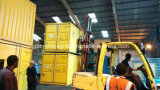25kg 50kg 100kgのポートのコンテナに詰められたウェイティングの移動式Bagging機械