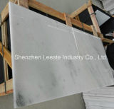 Marmo bianco di cristallo di vendita calda, mattonelle del marmo della decorazione della parete