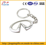 عادة شكل زنك سبيكة [دي كستينغ] معدن [كي رينغ] مادّيّ مع سلسلة