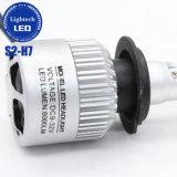 Todo en una fábrica de alta potencia Lightech COB Kit de faros LED 60W 8000lumen S2 H7 Faro de LED de 12V 24V Coches Motocicletas