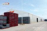 최신 판매 단단한 샌드위치 벽을%s 가진 큰 창고 천막