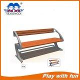 Banco de parque al aire libre de la madera y del metal de la alta calidad para la venta