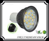GU10 LED Glas 5W 450lm des Scheinwerfer-30PCS 3528SMD
