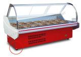 スーパーマーケットのための空気冷却肉表示冷却装置