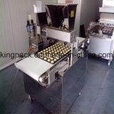 Linha de produção do bolinho/máquina automáticas cheias do alimento