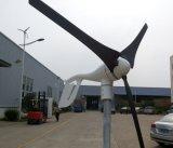 gerador de turbina horizontal do vento 600W com certificado do Ce
