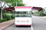 판매를 위한 주문을 받아서 만들어진 거리 빵집 이동할 수 있는 음식 트럭