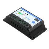 regulador de la batería del panel solar de 30AMP 12V/24V con el control S30I de Light+Timer