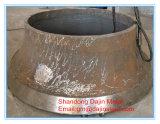 사발 강선 Metso 콘 쇄석기 보충 착용 부속