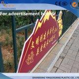 strato di plastica del PVC di 1-40mm per la pubblicità esterna