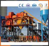 Impianti di miscelazione concreti asciutti del miscelatore di cemento 50m3/H con il silo